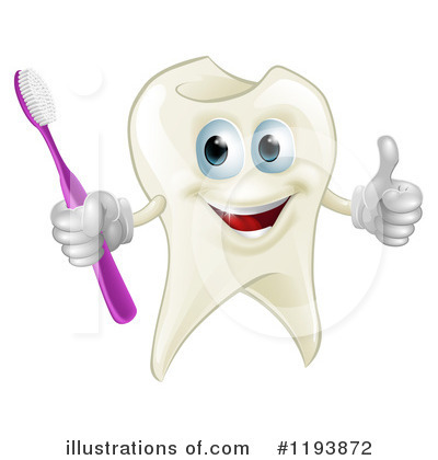 Tooth Clipart #1193872 by AtStockIllustration