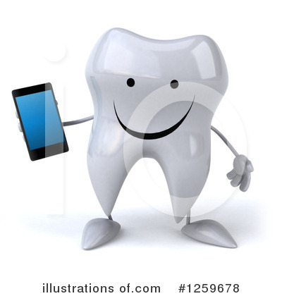 Royalty-Free (RF) Tooth Clipart Illustration by Julos - Stock Sample #1259678