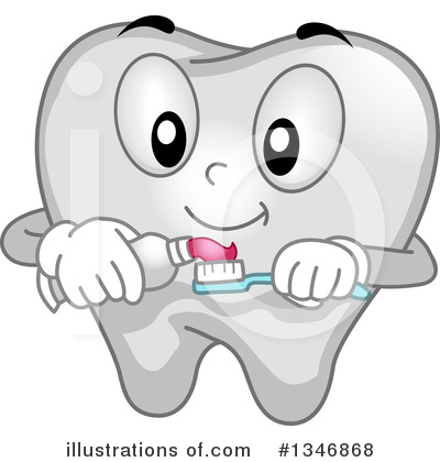 Tooth Clipart #1346868 by BNP Design Studio