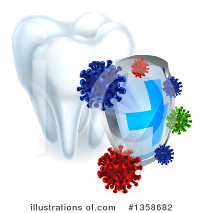 Tooth Clipart #1358682 by AtStockIllustration