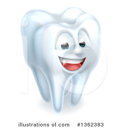 Royalty-Free (RF) Tooth Clipart Illustration by AtStockIllustration - Stock Sample #1362383