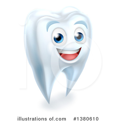 Royalty-Free (RF) Tooth Clipart Illustration by AtStockIllustration - Stock Sample #1380610