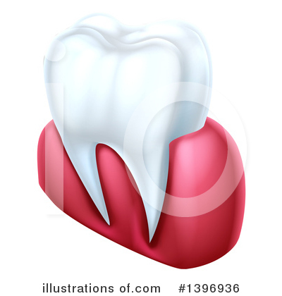 Tooth Clipart #1396936 by AtStockIllustration