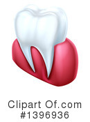 Royalty-Free (RF) Tooth Clipart Illustration #1396936