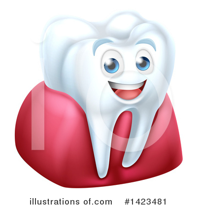Tooth Clipart #1423481 by AtStockIllustration