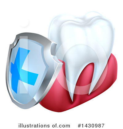 Royalty-Free (RF) Tooth Clipart Illustration by AtStockIllustration - Stock Sample #1430987