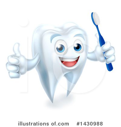 Tooth Clipart #1430988 by AtStockIllustration