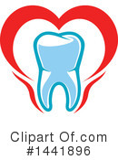 Royalty-Free (RF) Tooth Clipart Illustration #1441896