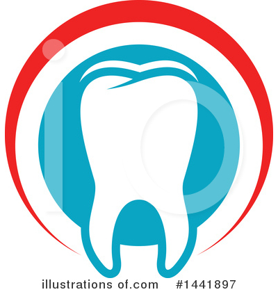 Tooth Clipart #1441897 by Vector Tradition SM