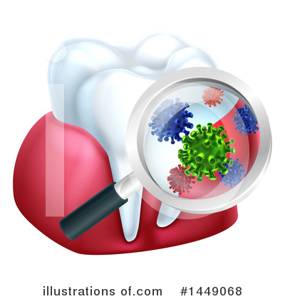 Germs Clipart #1449068 by AtStockIllustration