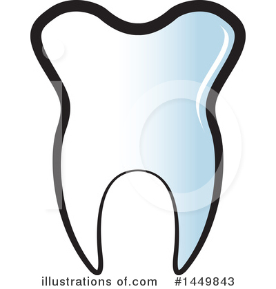 Tooth Clipart #1449843 by Lal Perera