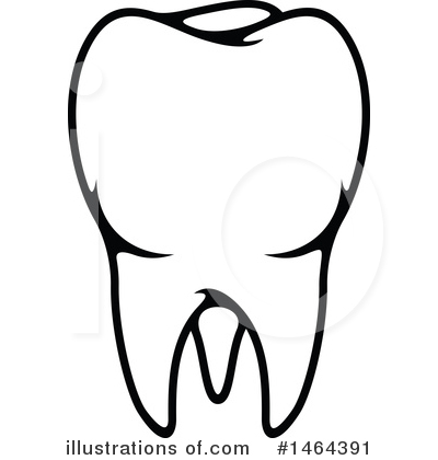 Royalty-Free (RF) Tooth Clipart Illustration by Vector Tradition SM - Stock Sample #1464391