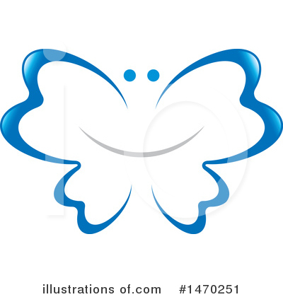 Butterfly Clipart #1470251 by Lal Perera