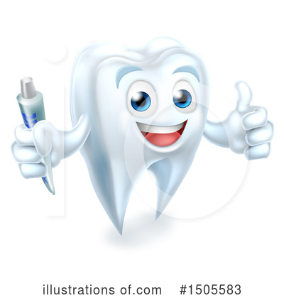 Tooth Clipart #1505583 by AtStockIllustration