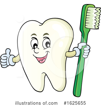 Tooth Clipart #1625655 by visekart
