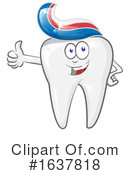Tooth Clipart #1637818 by Domenico Condello