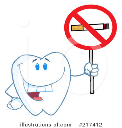 Tooth Character Clipart #217412 by Hit Toon