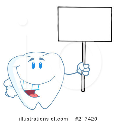 Tooth Character Clipart #217420 by Hit Toon