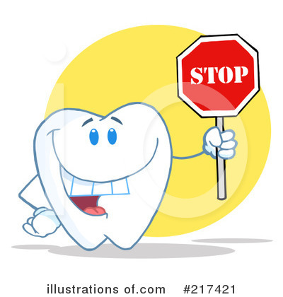 Tooth Character Clipart #217421 by Hit Toon