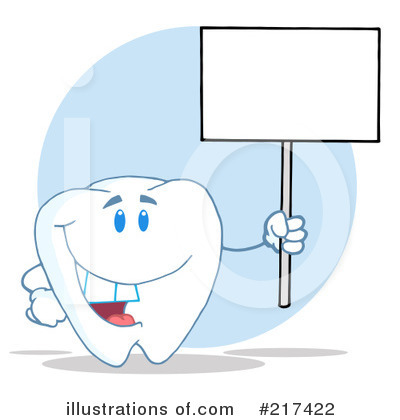 Tooth Character Clipart #217422 by Hit Toon