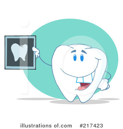 Tooth Character Clipart #217423 by Hit Toon