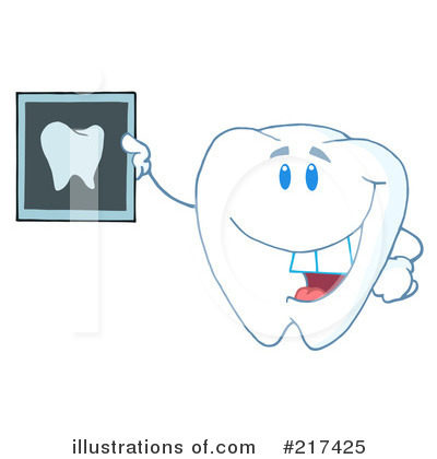 Tooth Character Clipart #217425 by Hit Toon