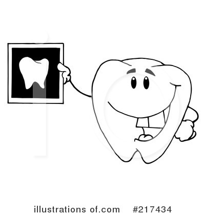 Tooth Character Clipart #217434 by Hit Toon