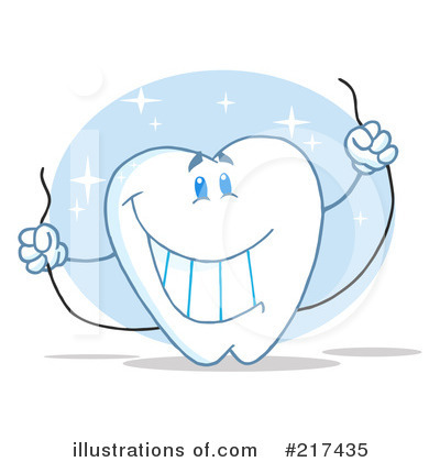 Tooth Character Clipart #217435 by Hit Toon