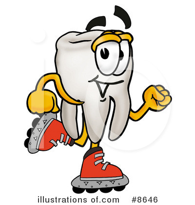 Tooth Clipart #8646 by Toons4Biz