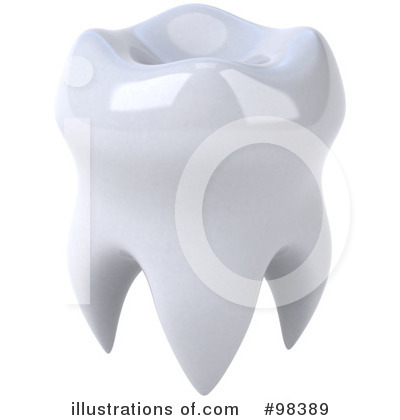 Tooth Clipart #98389 by Julos