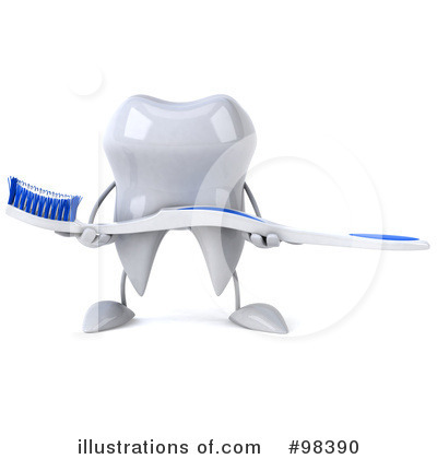 Tooth Clipart #98390 by Julos