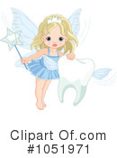 Royalty-Free (RF) Tooth Fairy Clipart Illustration #1051971