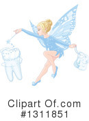Royalty-Free (RF) Tooth Fairy Clipart Illustration #1311851