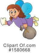 Tooth Fairy Clipart #1580668 by visekart