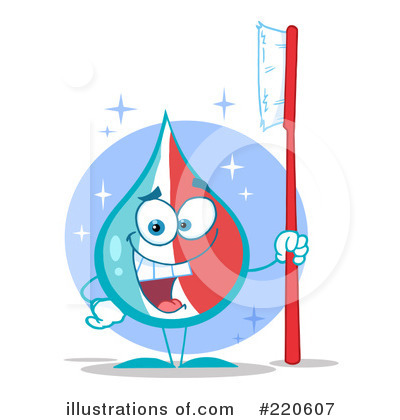 Brushing Teeth Clipart #220607 by Hit Toon