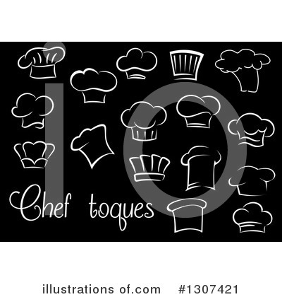 Toque Clipart #1307421 by Vector Tradition SM