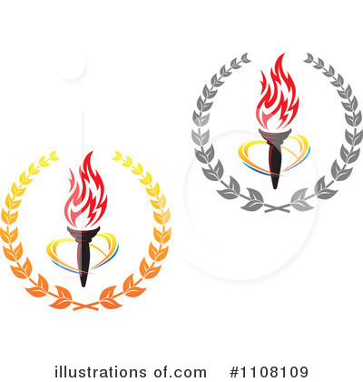 Royalty-Free (RF) Torch Clipart Illustration by Seamartini Graphics - Stock Sample #1108109