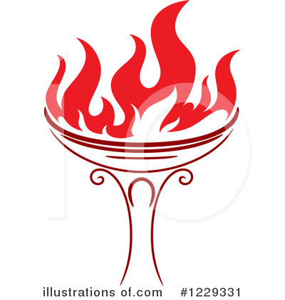 Torch Clipart #1229331 by Vector Tradition SM