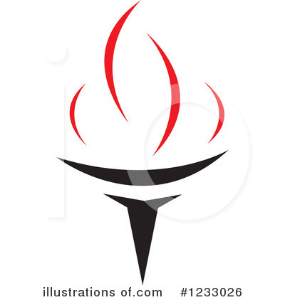Torch Clipart #1233026 by Vector Tradition SM
