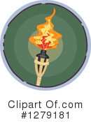 Torch Clipart #1279181 by BNP Design Studio