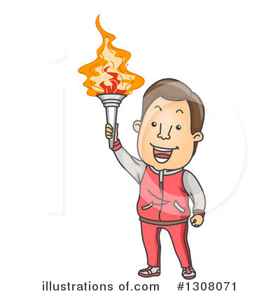 Torch Clipart #1308071 by BNP Design Studio