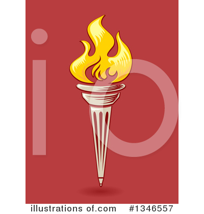 Royalty-Free (RF) Torch Clipart Illustration by BNP Design Studio - Stock Sample #1346557