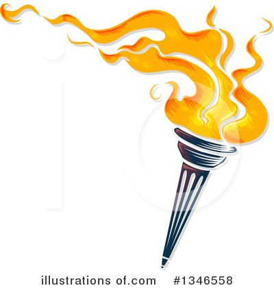 Torch Clipart #1346558 by BNP Design Studio
