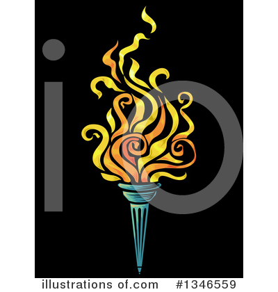 Torch Clipart #1346559 by BNP Design Studio