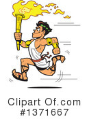 Torch Clipart #1371667 by Clip Art Mascots