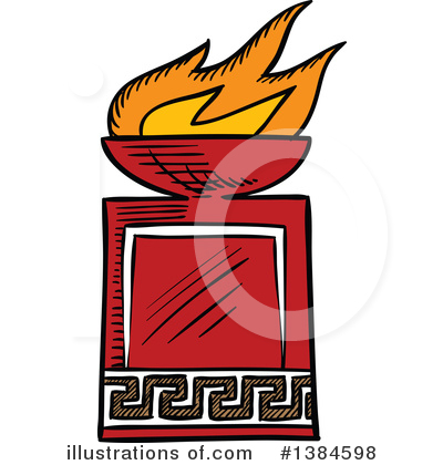 Torch Clipart #1384598 by Vector Tradition SM
