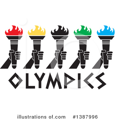 Torch Clipart #1387996 by Johnny Sajem