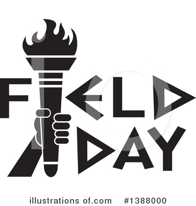 Field Day Clipart #1388000 by Johnny Sajem
