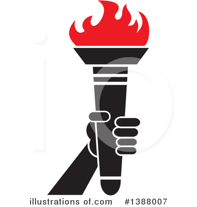 Torch Clipart #1388007 by Johnny Sajem