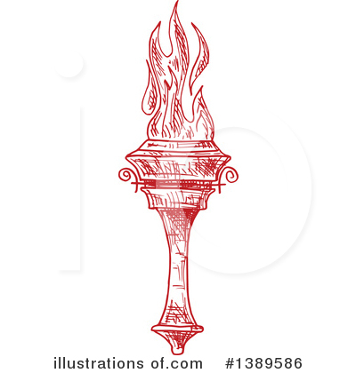 Torch Clipart #1389586 by Vector Tradition SM